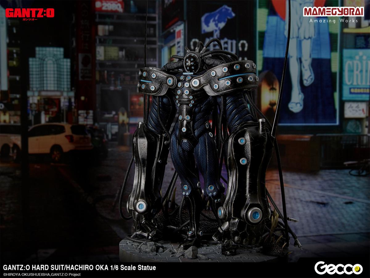 GANTZ:O」岡八郎、ハードスーツを纏い転送完了!重厚感&戦闘力を再現 ...