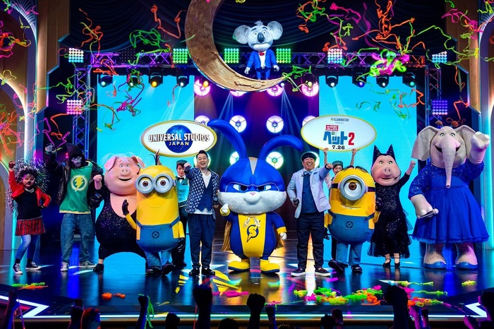 「『ペット2』公開記念イベント at ユニバーサル・スタジオ・ジャパン」(C)Universal Studios. Despicable Me, Minion Made and all related marks and characters are trademarks and copyrights of Universal Studios. Licensed by Universal Studios Licensing LLC. All Rights Reserved. TM &(C)2019 Universal Studios.