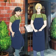 「BANANA FISH cafe and bar」描き下ろしアート (C)吉田秋生・小学館/Project BANANA FISH