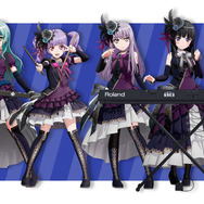 Roselia メンバーイラスト (C)BanG Dream! Project (C)Craft Egg Inc. (C)bushiroad All Rights Reserved.