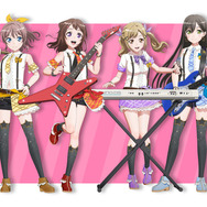 Poppin'Party メンバーイラスト (C)BanG Dream! Project (C)Craft Egg Inc. (C)bushiroad All Rights Reserved.