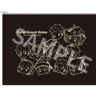 『Fate/Grand Order』Fate/Grand Order ぷちサバ!ふぇいす ポーチ 1300円(C)TYPE-MOON / FGO PROJECT