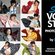 「TVガイドVOICE STARS presents SUPER VOICE STARS PHOTO EXHIBITION by LESLIE KEE」メインビジュアル