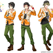 「THE IDOLM@STER SideM THANKS ST@RRY PARTY!!!!! ~みんなでつくる感謝祭~」書き下ろしイラスト(C)BANDAI NAMCO Entertainment Inc. (C)SCRAP