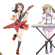 Poppin'Party 『Bang Dream!』(C)BanG Dream! Project