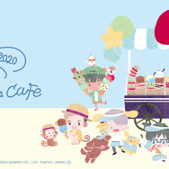 「Yuri on Ice×Sanrio characters Cafe 2020」メインビジュアル(C)はせつ町民会/ユーリ!!! on ICE 製作委員会(C)1976,1989,1992,1993,1996,1998,2020 SANRIO CO.,LTD. APPROVAL NO.610406