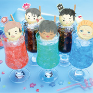 「Yuri on Ice×Sanrio characters Cafe 2020」ドリンクメニュー(C)はせつ町民会/ユーリ!!! on ICE 製作委員会(C)1976,1989,1992,1993,1996,1998,2020 SANRIO CO.,LTD. APPROVAL NO.610406