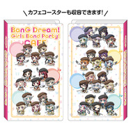 マルチクリアファイル 1,200円(税抜)(C)BanG Dream! Project (C)Craft Egg Inc. (C)bushiroad All Rights Reserved.